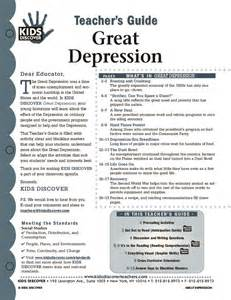 Depression Worksheet Causes Of The Great Depression Worksheet Cleverwraps