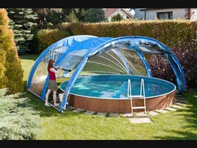 toit de piscine hors sol abri piscine ronde hors sol