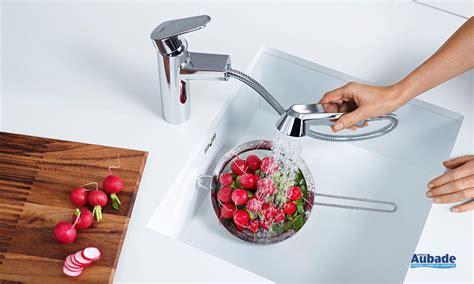 mitigeur douchette grohe cuisine robinet de cuisine avec douchette grohe eurodisc espace