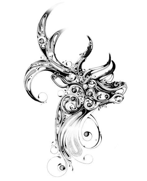 beautiful animal art  black ink xcitefunnet