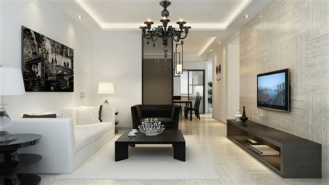 black contemporary floor l 60 top modern and minimalist living rooms for your