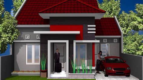 gambar desain rumah minimalis bata merah wallpaper dinding