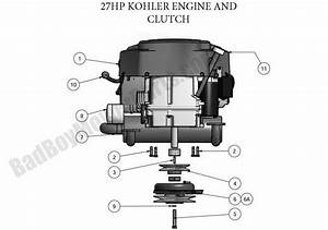Bad Boy Parts Lookup 2011 Zt Engine  27hp Kohler