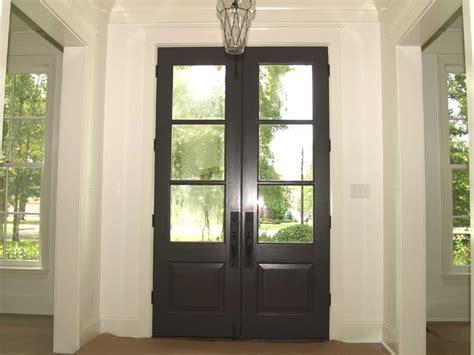 light spanish cedar front door   stained