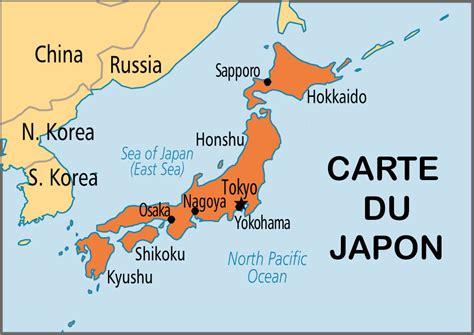 Carte Du Monde Japon by Info Ile Du Japon