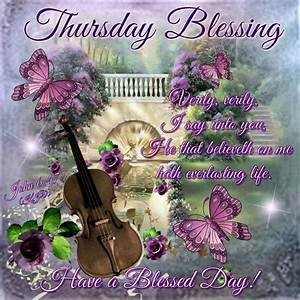 Thursday Blessings days of the week thursday happy ...