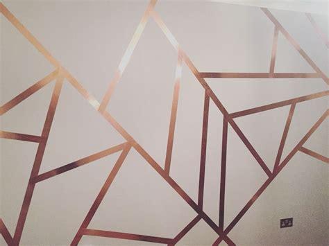 copper tape wall   slugs wall paint designs
