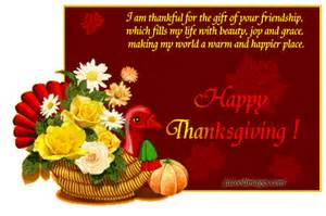happy thanksgiving wishes for family and friends
