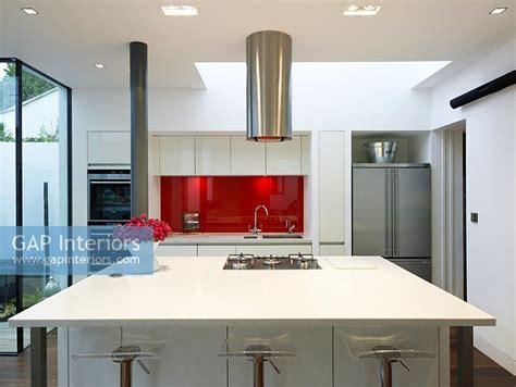 modern kitchen island with hob gap interiors modern kitchen with gas hob on island