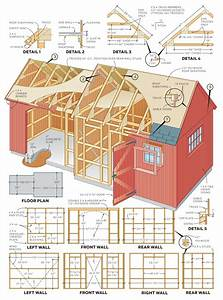How To Build A Shed  U2013 2 In 1 Backyard Shed  Step By Step