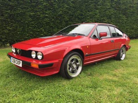 1986 Alfa Romeo Alfetta Gtv6 3.0 Sold