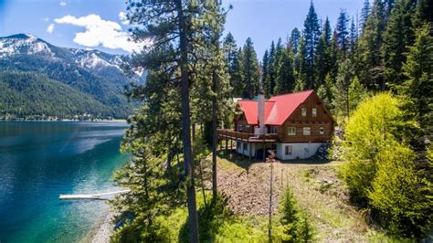 Oregon Lakes With Boat Rentals by Golden Saddle 7 Wallowa Lake Frontage Home Vacation