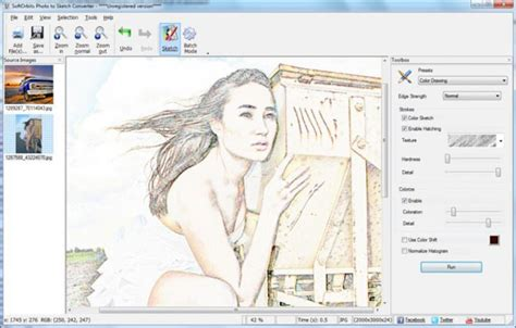 sketch design software how to change photo to drawing softorbits