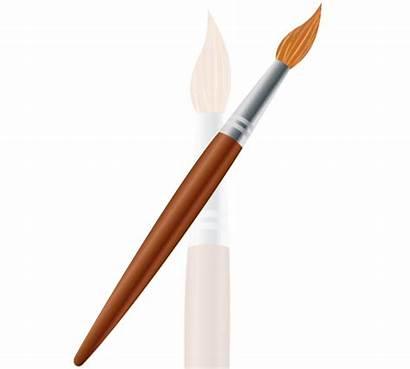 Brush Paint Vector Paintbrush Clipart Clip Vectors