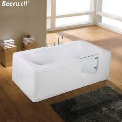 2015 New Walk In Bath Bathtub Acrylic elderly people with disabilities separate bath tub door glass door innovative design