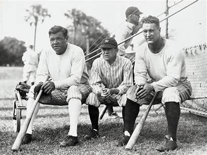 Ruth Babe Lou Gehrig Baseball Wallpapers Sports