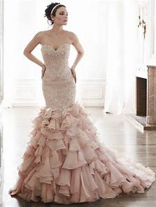 add some color 19 stunning colored wedding dresses With color wedding dresses
