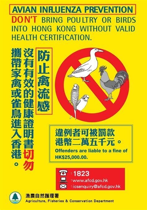 afcd quarantine pesticides