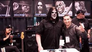 SLIPKNOT's MICK THOMSON @ NAMM SHOW 2012 - YouTube
