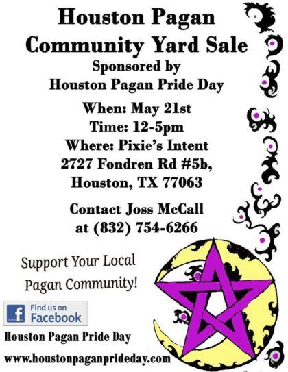 community garage sales houston tx houston pagan community yard sale unitarian universalist