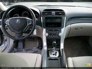 Taupe Interior Dashboard For The 2008 Acura Tl 3 2