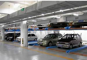Rotary automated Underground Garage Lift