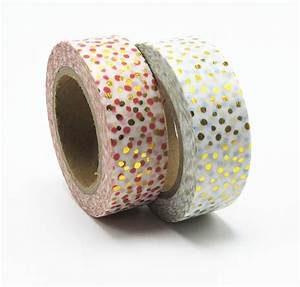 New Foil Washi Tape Office Adhesive Scrapbooking Tools