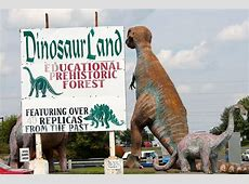 Road Trip Pit Stop Dinosaur Land