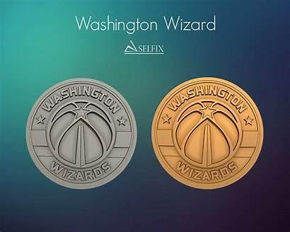 Washington Wizard Relief Stl Logos Signs Models