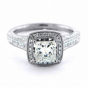 simple square diamond engagement rings engagement square With antique diamond wedding rings