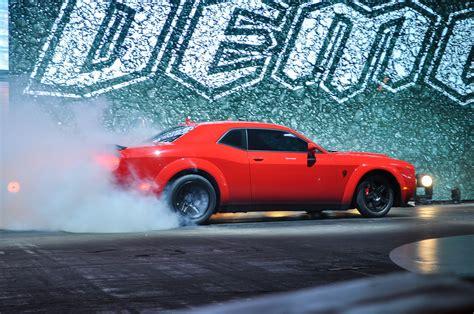 dodge demon delivers  horsepower