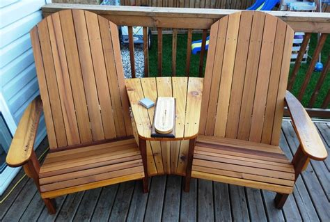 plans for adirondack chair with table image mag