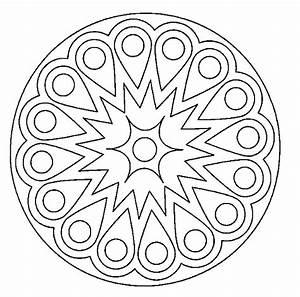 Imágenes para imprimir y colorear de Mandalas … | Pinteres…