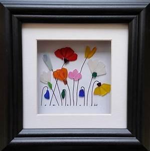 Sea, Glass, Flower, Garden, Sea, Glass, Art