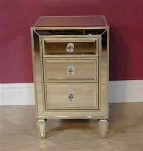 Table De Nuit Miroir : tables de chevet meubles archives antiquites canonbury ~ Teatrodelosmanantiales.com Idées de Décoration