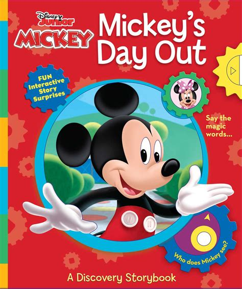 Magic With Mickey Book by Disney Junior Mickey Mouse Mickey S Day Out Book By