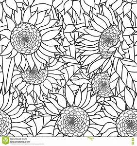Elephant Pages Sunflower Coloring Pages