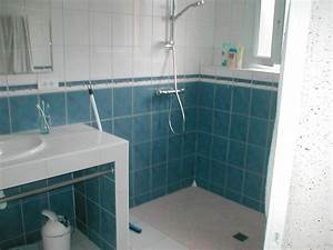 Renover Faience Salle De Bain : r novation compl te salle de bain douche italienne ~ Premium-room.com Idées de Décoration