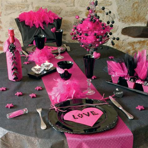 d 233 coration de tables pour la valentin 2 d 233 co