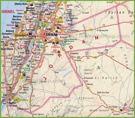 jordan road map