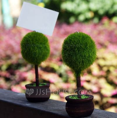 Topiary Place Card Holders (set Of 4) (051022905) Jjshouse