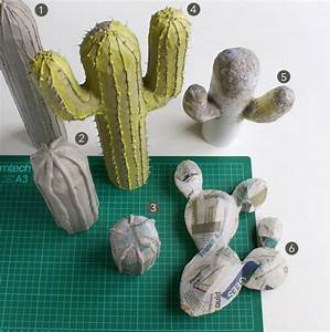 Comment Entretenir Un Cactus : 6 tutos pour cr er des cactus d coratifs ~ Nature-et-papiers.com Idées de Décoration