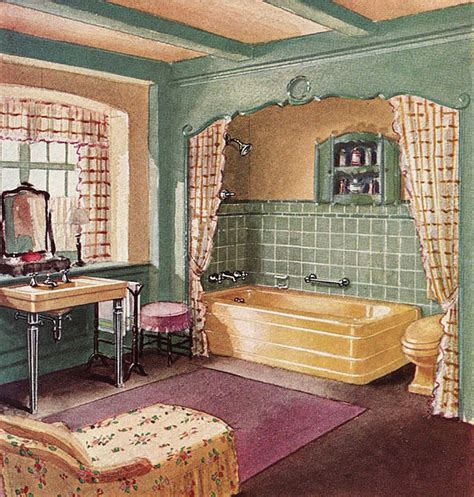 1930s Bathroom Design by 1930s Interiors Weren T All Black Gold And Drama