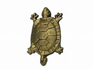 Wholesale rustic gold cast iron turtle hook quot model ship