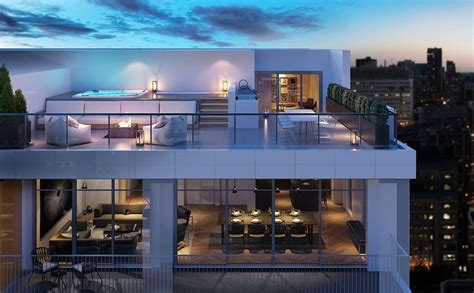 high end kitchen cabinets penthouse in montreal place des arts laurent clark