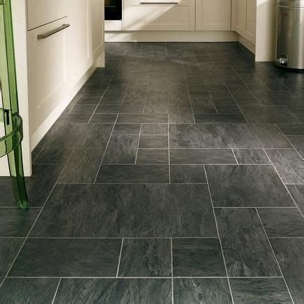 tile flooring for kitchen ideas professional continuous black slate laminate tiles home 8483