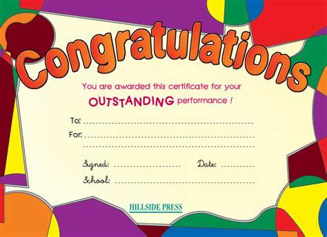 congratulations certificate templates search results for congratulations certificate templates