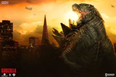 Sideshow Collectibles To Unleash 'godzilla' Maquette Today
