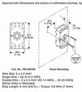 Allen Bradley 700 Relay Wiring Diagram