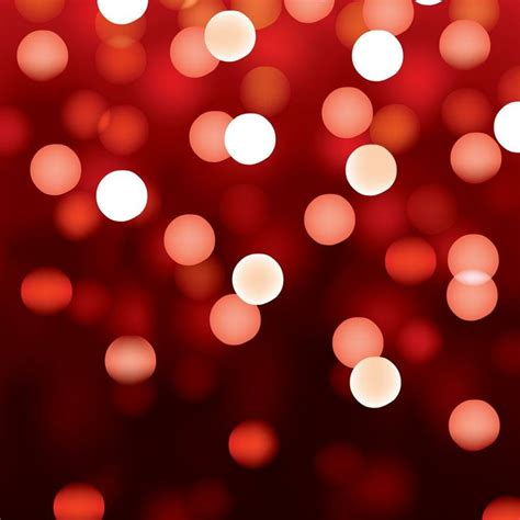 Red Abstract Lights. Unfocused Light Background Series